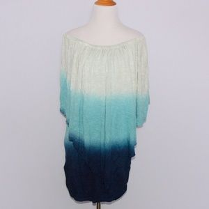 Young Fabulous and Broke Ombre Mini Dress Tunic